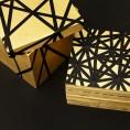puzzle box, 2016, tempera, wood, tape, board, 15 x 15 x 14 cm