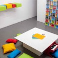 Toy Toy Play!, 2016, 2 toy pianos, play material in painted wood, variable dimensions